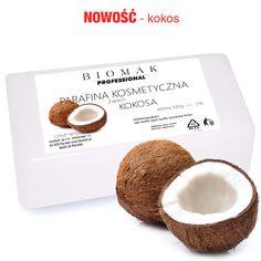 Parafina kosmetyczna / zapach kokos - Biomak - producent sprzętu kosmetycznego Place Cards, Place Card Holders, Paraffin Wax