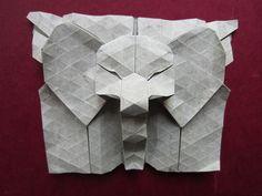 Tessellated Elephant Head by Yureiko, via Flickr