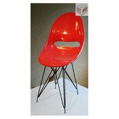 Židle plastová, 1959 - vertex