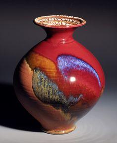 Great glaze.  Alan Higinbotham by Oregon Potters, via Flickr
