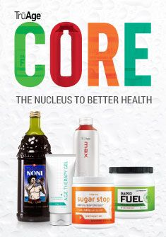 TruAge Core Regimen includes ingredients that both prevent amd lower the formation of A.G.E.s which are harmful compounds that create disease in the body. TruAge Core truly is helping people worldwide look and feel younger, longer!! See https://www.morinda.com/3262472