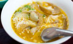 Mohinga - fish noodle soup, Myanmar