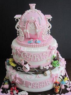 Cinderella Shower Cake