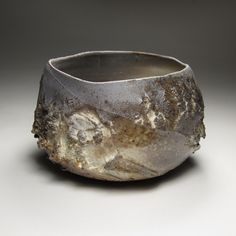 Tom Charbit | 'Karakorum 11pm' | Porcelain, natural ash glaze, woodfired at 1300°C (16 hours), Train Kiln, Lagorce, France, 15 October 2010,...