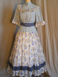 I love the mix of the 3 different patterns.  Oklahoma « Maine State Music Theatre Costume Rental