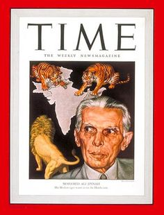 Mohamed Ali Jinnah on the cover of Time Magazine in 1946 | Flickr - Photo Sharing!