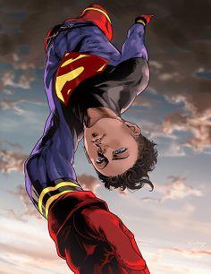 Superboy  by Ricken-Art
