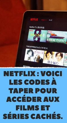 Netflix: here are the codes to type to access hidden movies and series. Netflix : voici les codes à taper pour accéder aux films et séries cachés. Netflix: here are the codes to type to access hidden movies and series.