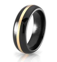 Sweet Black And Gold Wedding Bands More Design  http://articleall.com/black-wedding-band/black-and-gold-wedding-bands/