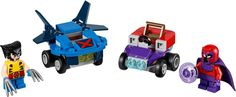LEGO Mighty Micros: Wolverine vs. Magneto Instructions 76073, Marvel Super Heroes