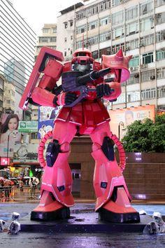 時代廣場「GUNDAM DOCKS AT HONG KONG」正式開幕