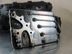 Cog Monster Belt Buckle by RhythmicMetal on Etsy, $50.00