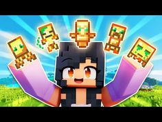 NEW Totems Minecraft SHOULD ADD! - YouTube Diy Pokemon Cards, Aphmau Twitter, Demon Videos, Minecraft Underground, Aphmau Characters, Minecraft Mansion, Minecraft Construction, Love Is All, Cute Drawings