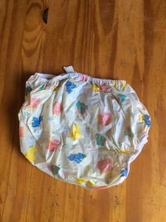 Vintage Baby Plastic Pants Diaper Cover Curity Cloth