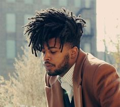 Check Out These 50 Memorable Ways You Can Wear Dreadlocks - Men Hairstyles World Mens Dreadlock Styles, Dreadlock Hairstyles For Men, Dreads Styles, African Hairstyles, Curly Hair Styles, Natural Hair Styles, Black Men Haircuts, Black Men Hairstyles, Twist Hairstyles