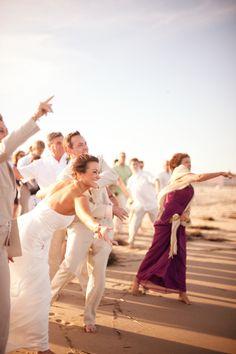 Seashell Ceremony  Nags Head Beach - Fearing Cottage      Jen Yuson - Photographer