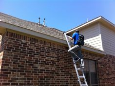 Brad handling a roof inspection in Allen yesterday. The hail storm has us busy, but never too busy to do a free roof inspection to see if residents have any significant damage. Commercial Roofing, Residential Roofing, Roof Installation, Roofing Services, Hail Storm, Construction Services, Falling Down, Tips, Events