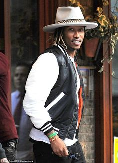 Creating distance: Rapper Future tweeted on Tuesday that he doesn't pay attention to rumou...