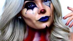 freak show clown makeup - YouTube