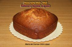 Base tarta Mari - Mari   Rellenar y decorar al gusto