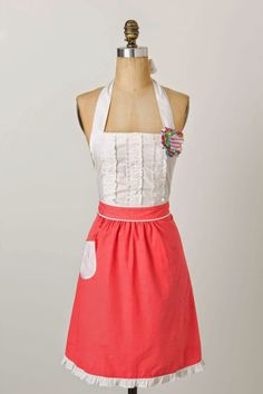 Tea-And-Crumpets Apron :: Effortless Anthropologie