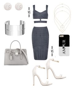 """""""A"""" by danivsdaniella on Polyvore featuring Posh Girl, Dinh Van, Topshop and MICHAEL Michael Kors"""
