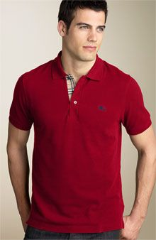 With Burberry you can do no wrong. The polos are just about as classic as Ralph Lauren and Lacoste. The best thing about Burberry polos is the high-quality material and rich colors.
