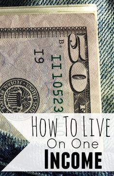 How To Live On One Income. Living on one income doesn't have feel impossible. Here are my tips to live on one income and not live paycheck to paycheck.