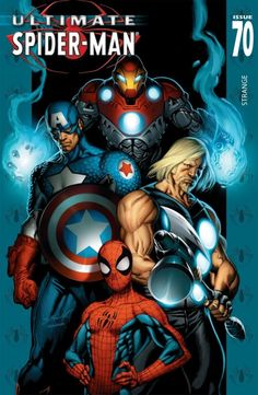 Ultimate Spider-man 70- Ultimates , Captain America, Thor, Iron Man