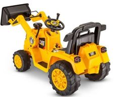 Kid's Ride On Tractor Yellow Battery Powered Electric Toddler Car Truck Toy Yard #KidTrax