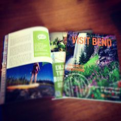 I've been designing the official Bend Visitor Guide since its inception. Here was the 2012/2013 visitor guide for Bend, Oregon.