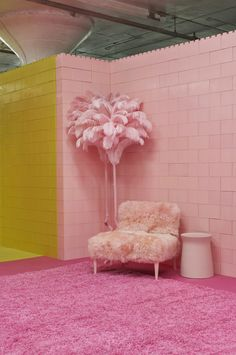 Cj Hendry's MONOCHROME Home Features 7 Monochromatic Rooms Designed Around Her Art - Design Milk