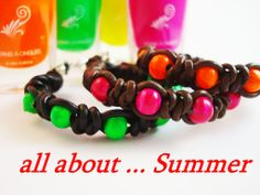 bracelets -pulseras all about summer - duneka.com