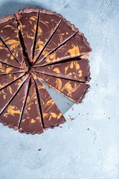 Erdnusskaramell-Schoko-Tarte: Schokoladensünde pur ⋆ Knusperstübchen