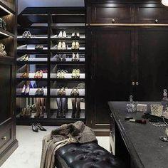 Lit Shoe Shelves, Contemporary, Closet Dressing Room Closet, Dressing  Rooms, Dressing Area