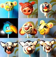 Lion King. Lion King 4, Lion King Cakes, 4th Birthday Parties, Birthday Fun, Cake Pop Favors, Lion King Baby Shower, Edible Art, Cute Cakes, Creative Cakes