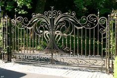 gates - pretty, but rather have stately