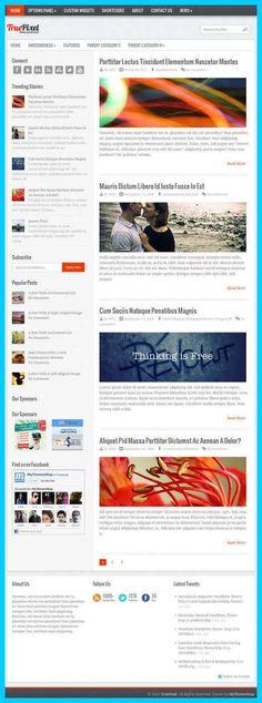 TruePixel WordPress Theme Review - MyThemeShop