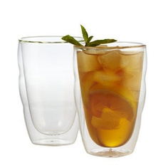 Pilatus *Stackable Double Wall Glasses (Set of 2)