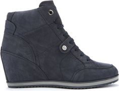 Geox Canvas Warren Trainers in Navy (Brown) for Men Lyst