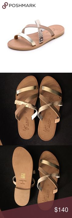 NWOT Joie A La Plage Flat Strappy Slide Sandals BRAND NEW! Never worn. The most absolutely perfect sandal. Joie Shoes Sandals
