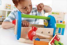 Boite à outils pour enfant - Jouet en bois Hape E3001