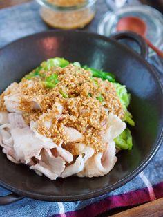 豚肉と春キャベツのごまポンだれ【#包丁不要 #湯かけ】 by Yuu 「写真がきれい」×「つくりやすい」×「美味しい」お料理と出会えるレシピサイト「Nadia | ナディア」プロの料理を無料で検索。実用的な節約簡単レシピからおもてなしレシピまで。有名レシピブロガーの料理動画も満載!お気に入りのレシピが保存できるSNS。
