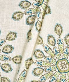Suburban Home Pavo Aquadisiac Fabric $24.55