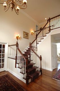 Bain - Stairs - traditional - staircase - milwaukee - by Barenz Builders