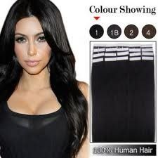 "26"" 20 Pieces 70 Grams 100% Human Hair Mini Skin Weft Tape in Seamless Extensions #1 Jet Black by MyLuxury1st. $97.40. New and Handmade! Feel free to contact me with any questions or request.  Thank you. -MyLuxury1st -a licensed small business, I work hard for you."