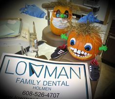 As National Dental Hygiene Month comes to an end.... LOWMAN FAMILY DENTAL wants to remind everyone to  BRUSH & FLOSS! Have a wonderful & safe Halloween weekend! #HappyHalloween #Dental #HolmenWI