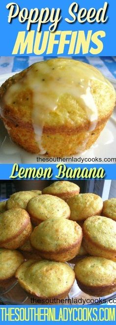 Poppy seed muffins are so quick and easy using a cake mix and they taste like you spent hours making them. We love the great lemon taste with just a bit of banana added. Serve …