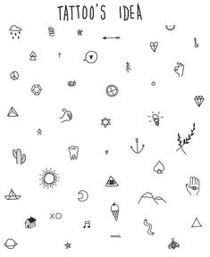 Best Small Tattoo Placement Ideas for Female - Drawing - Tatoo Ideen Tattoo Platzierung, Doodle Tattoo, Poke Tattoo, Doodle Drawings, Icon Tattoo, Tattoo Drawings, Hand Poked Tattoo, Tattoo Forearm, Hand Tatto