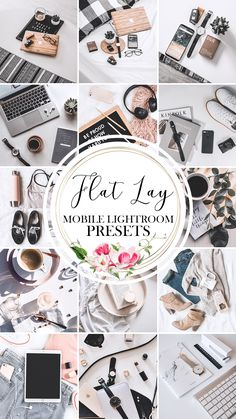 FLAT LAY Lightroom Presets Mobile These Flat Lay Presets are light and airy filters were created to brighten dull and dark flat lay images. You can make your flat lay photos more presentation and s.